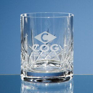 Personalised Flamenco Crystal Whiskey Glass - Image 1