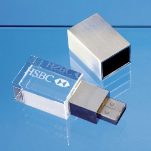 Personalised Crystal USB Memory Stick - Image 1