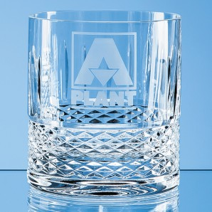 Modern Crystal Whiskey Glass - Image 1