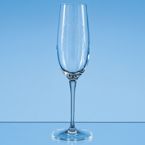 Personalised Plain Crystal Champagne Flute - Image 1