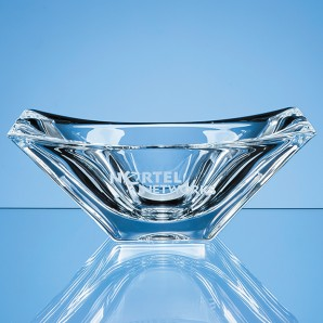 Personalised Crystal Tapered Bowl - Image 1