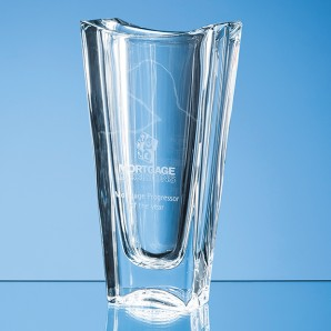 Personalised Crystal Tapered Vase - Image 1