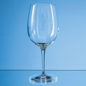 Engraved Long stemmed Wine Glass - Image 1