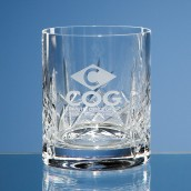 Personalised Flamenco Crystal Whiskey Glass