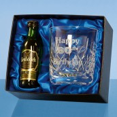 Personalised Crystal Whiskey Set