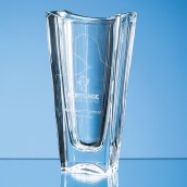 Personalised Crystal Tapered Vase