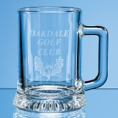 Engraved Straight Sided Pint Tankard