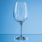 Engraved Long stemmed Wine Glass